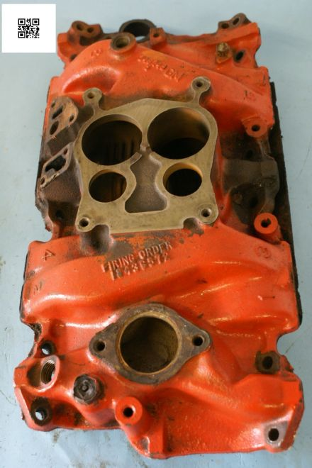 1975-1979 Corvette C3 Intake Manifold GM 346249, Used Fair